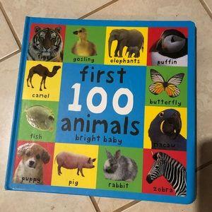 "Hardback ""first words"" + ""first animals"" books"